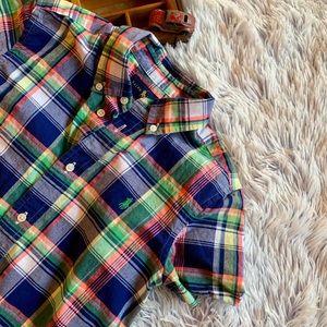 Ralph Lauren Boys Plaid Shirt
